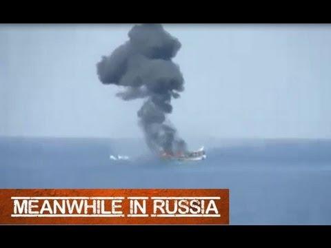 Russian Navy vs. Somali Pirates (Real Combat)