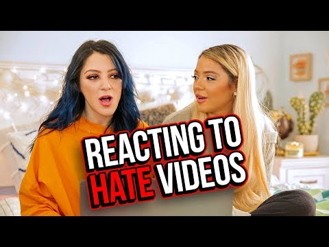 Reacting to Hate Videos &  Compilations (Niki & Gabi) - UCuVHOs0H5hvAHGr8O4yIBNQ