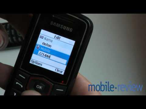Samsung E1081T Demo