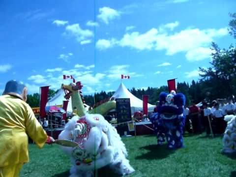 Edmonton Heritage Festival 2011 - Chinese Lion Dance Part I