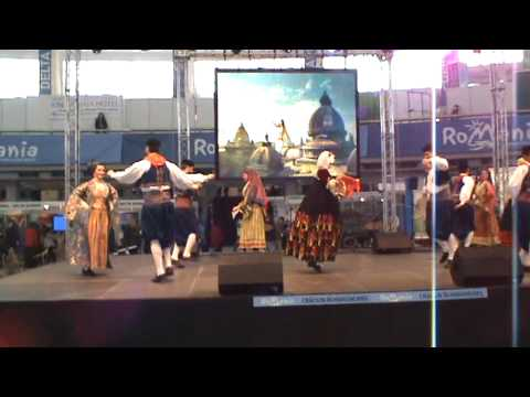 Greek folk dance at ROMEXPO Bucharest