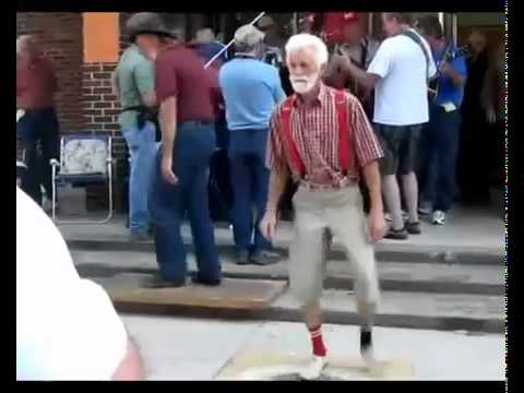 Everyday I'm Shuffling! - Party Rock Anthem - (Grampa Shuffling)