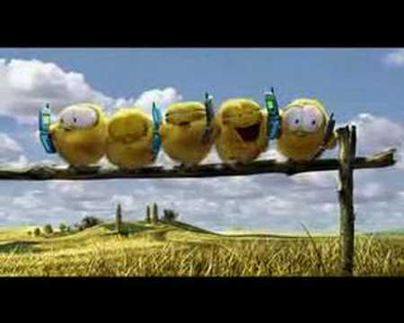 Pixar - Tennis Commercial