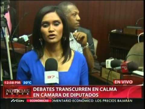 Debates transcurren en calma en CC