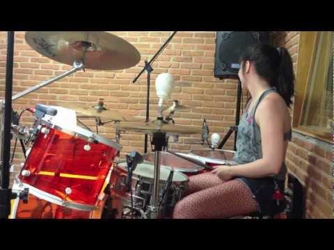 Enter Sandman by Lucy Fields (drum cover Metallica)