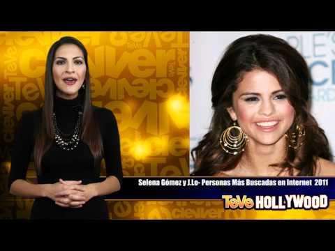 J.Lo y Selena Gomez  las mas buscadas en la Web 2011