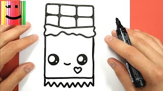 Youtube Comment Dessiner Donut Kawaii étape Par étape Dessins