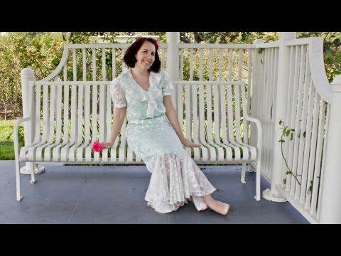 Rose Garden Dress - Butterick Pattern 5879