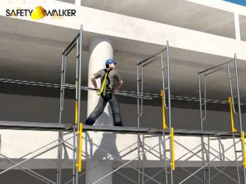 The Safety Walker Scaffolding Safety Device