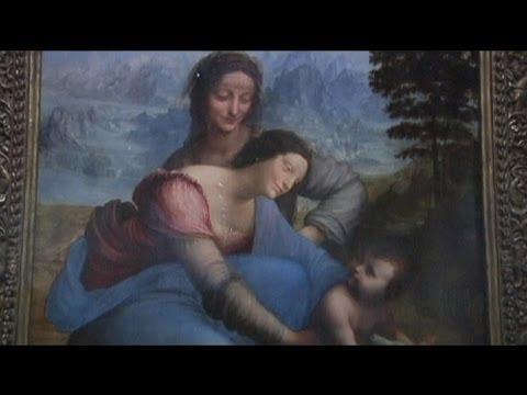 euronews le mag - Louvre expõe última obra de Leonardo da Vinci