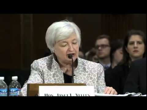 Fed's Yellen says U.S. recovery incomplete, defends loose policy  7/15/14  (White House)