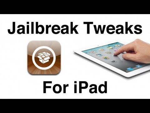 7 Essential Jailbreak Tweaks for iPad and iPad Mini on iOS 6