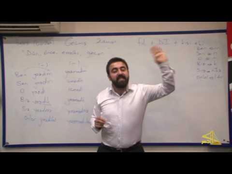 """تعلم اللغة التركية مع الأستاذ إبراهيم اسكي أوجاك الحلقة""""14"""""""