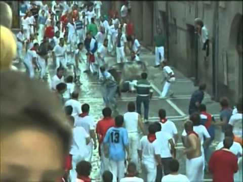 Encierro de San Fermín día 14 de Julio de 2003 480p