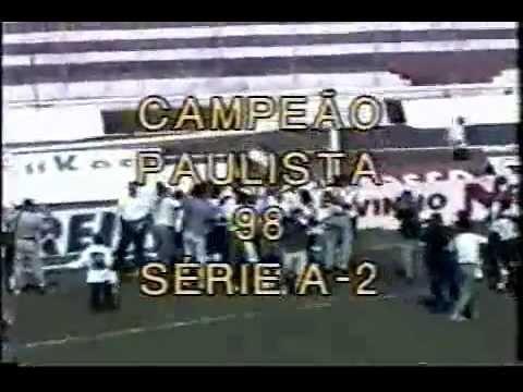 Paulista A2 1998: Noroeste 0x2 União Barbarense (31/05, em Bauru)