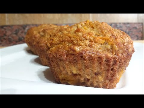 Carrot Apple Muffin Easy Recipe - Make It Easy Recipes