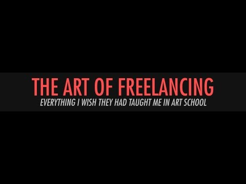 The Art of Freelancing with Noah Bradley - Everything I Wish They Had Taught Me in Art School - UCYu89Q_krburzkoDSpm5xjw