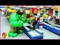 Lego Hulk Shopping Fail