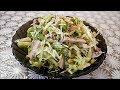 Легкий САЛАТ без МАЙОНЕЗА рецепт салат СВЕЖЕНЬКИЙ Salad without mayonnaise recipe