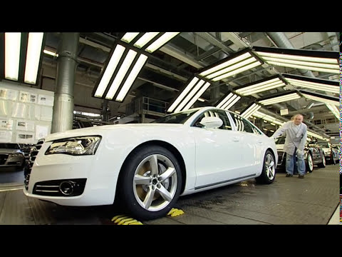All new Audi A8 2011 Production and Quality Plant