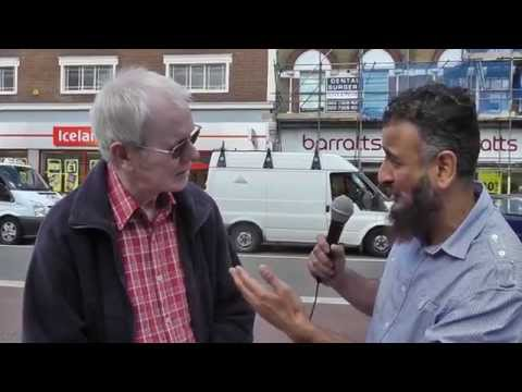 Amazing Conversion to Islam - Street Dawah