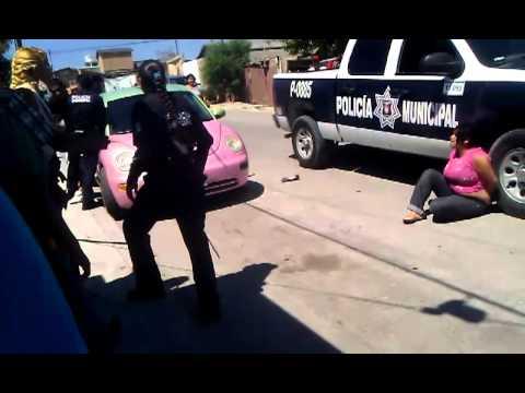 policias abusivos de tijuana