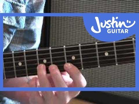 Fast Legato Rock Technique #1 (Guitar Lesson RO-011)
