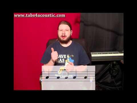 Cours de guitare : Le rythme 3 - Les contretemps - Partie 1