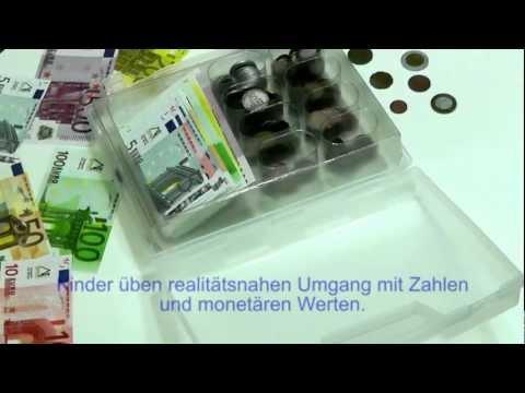 Rechengeld Koffer ein Montessori Produkt