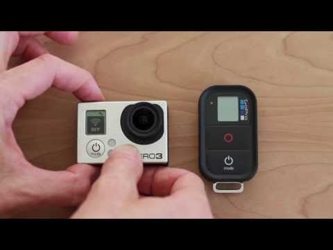 How To Use GoPro Hero 3 WiFi Remote