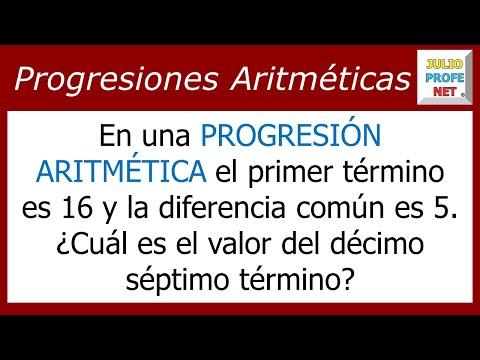 Encontrar un término en una Progresión Aritmética