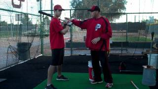 Hitting with Bill Sandillo of Predator USA & Orleans Firebirds