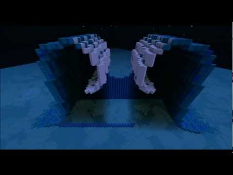 [Minecraft Timelapse] Element Temples *Water, Fire, Earth, Air*