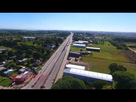 El avance de la obra del Acceso Sur a Paraná: Imágenes desde el drone