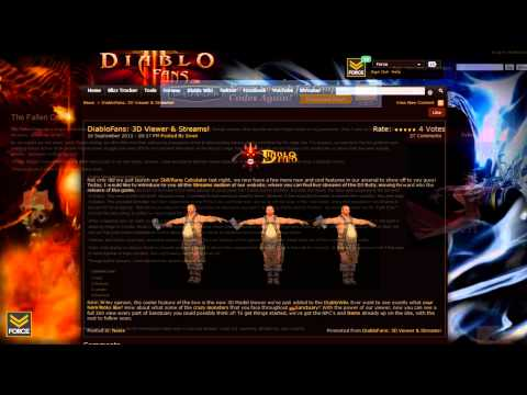 Diablo 3 - Patch 3 Gold AH, PayPal, 3D Viewer, Chat Gem - Purgatory September 16th 2011