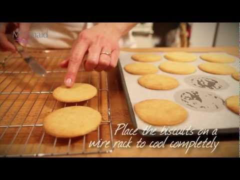 Vanilla Biscuits Recipe
