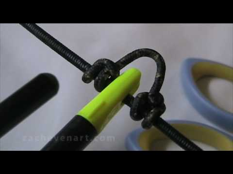 HOW TO TIE A D-LOOP ON YOUR BOW STRING - Archery