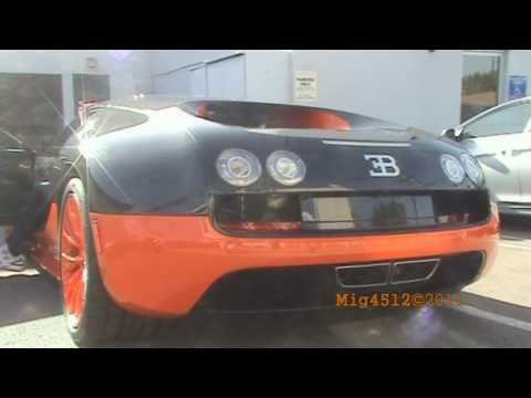RARE!!! Bugatti Veyron Super Sport Start Up and Acceleration