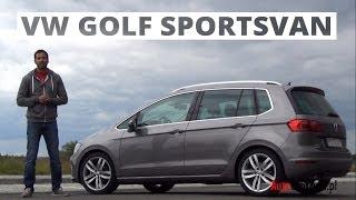 Volkswagen Golf Sportsvan 2.0 TDI 150 KM, 2014 - test AutoCentrum.pl