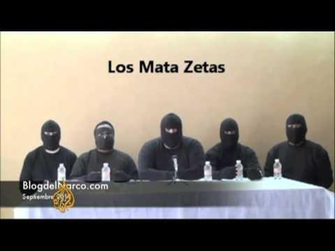 Mexico parades -Zeta killers- on camera