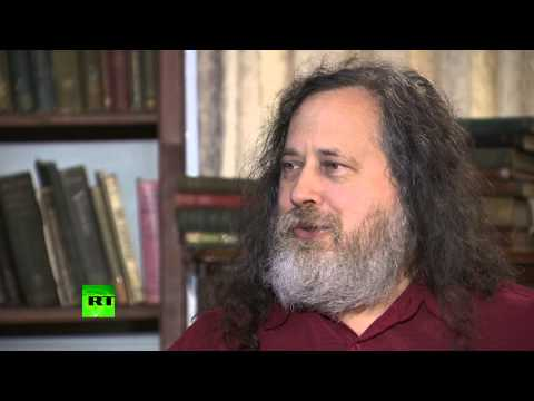 (NSA) Stallman: Businesses do the spying, US harvests the intel