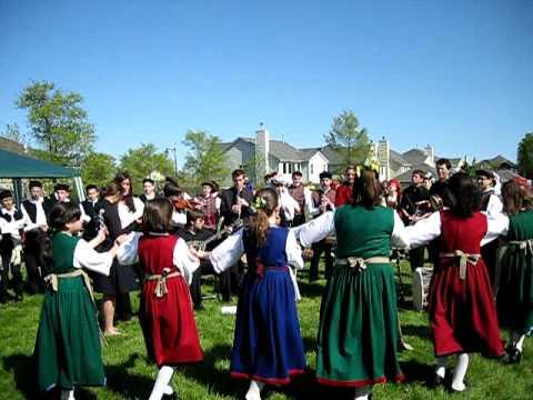MYA Greek Folk Dancing and Singing and Music 2009