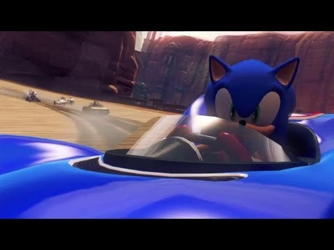 Sonic & Sega All-Stars Racing Transformed Announcement Trailer