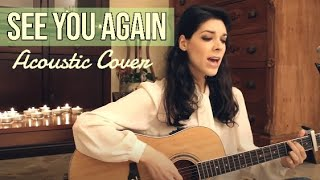 See You Again - Charlie Puth (Solo Version) - Irene Conti Acoustic Cover