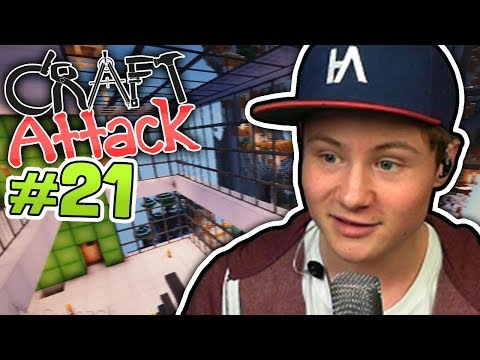 Dners Glashaus | Minecraft CRAFT ATTACK #21 | Dner