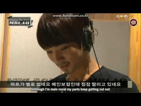 (Eng Sub) MBLAQ - Making The Artist Ep.1 (2/2)