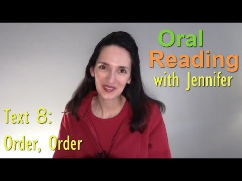 Oral Reading Fluency 8 -
