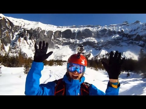 GoPro HD: Avalanche Cliff Jump - TV Commercial - You in HD