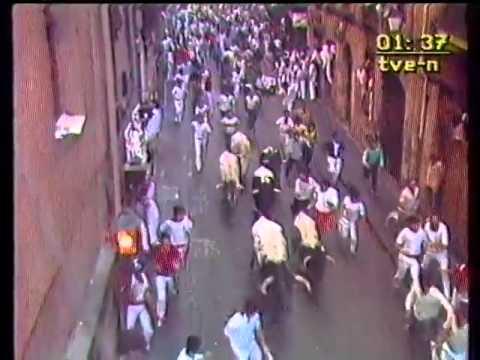 Encierro de San Fermín   14 de julio de 1984 480p