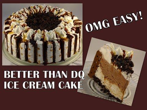 Who Needs DQ? Ice Cream Sandwich Cake - with yoyomax12 - UCQo1BANqbQeBKJbw8_ob3UA
